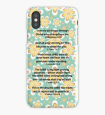 Inspirational Bible Verse iPhone Case iPhone Case