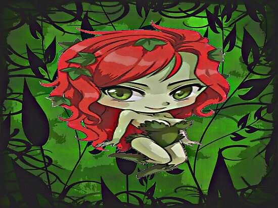 Ivy The Queen Of Green by Sermani