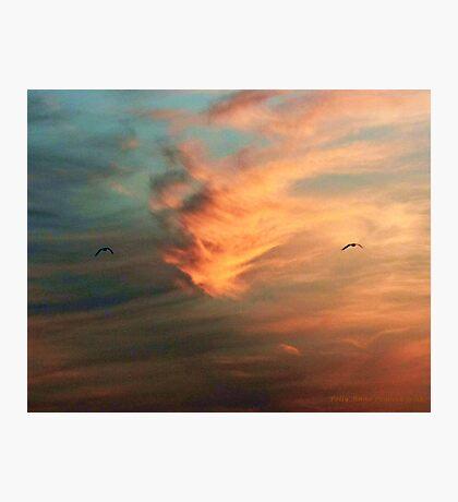 Aduo Sunset Photographic Print