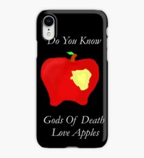 DeathApples iPhone XR Case
