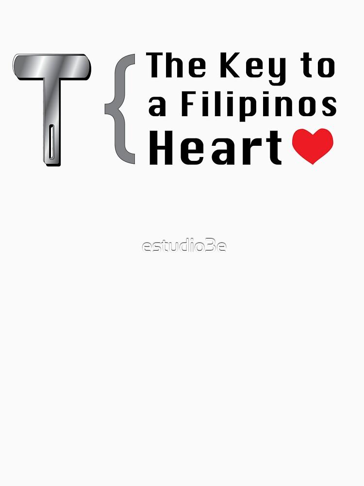 The Key to a Filipinos heart by estudio3e