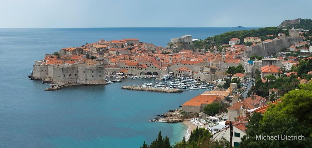 Dubrovnik, Croatia by Michael Dietrich