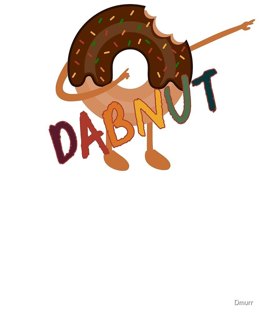 Dabnut the Dabbing Donut Vintage Themed Funny Merch by Dmurr