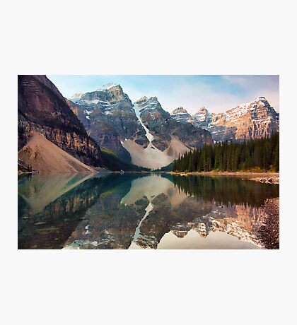 Early Morning at Moraine Lake Photographic Print
