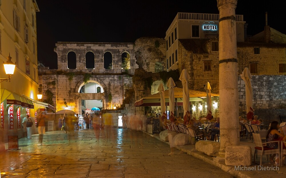 Split, Croatia by Michael Dietrich