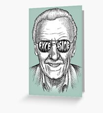 Excelsior Greeting Card