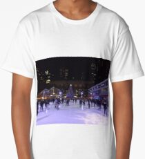 Midtown Skating, New York City Long T-Shirt