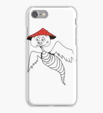 Death-cap mushroom bug iPhone Case/Skin