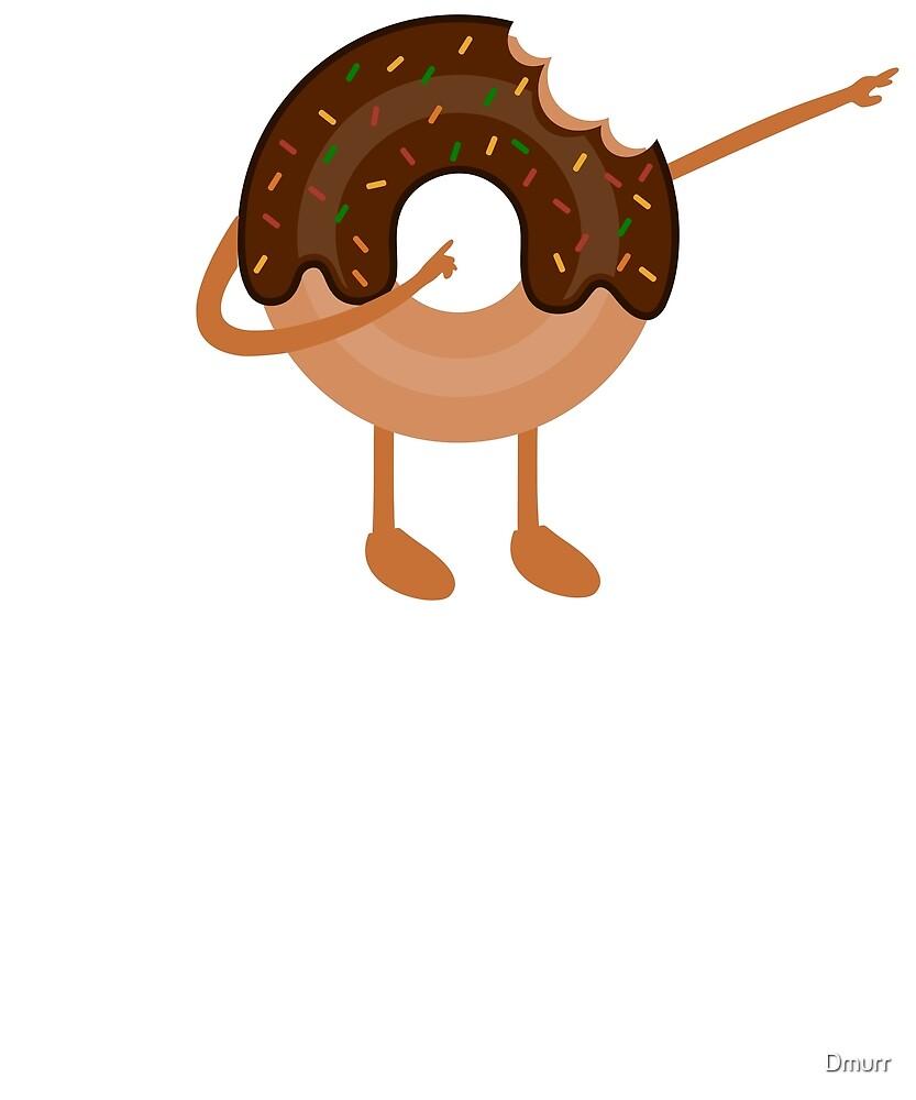 Dabnut the Dabbing Donut Vintage Themed, Funny Merch by Dmurr