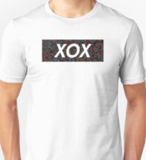 XOX Red and Blue camo Unisex T-Shirt