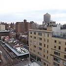 Aerial View, West Village, New York City by lenspiro