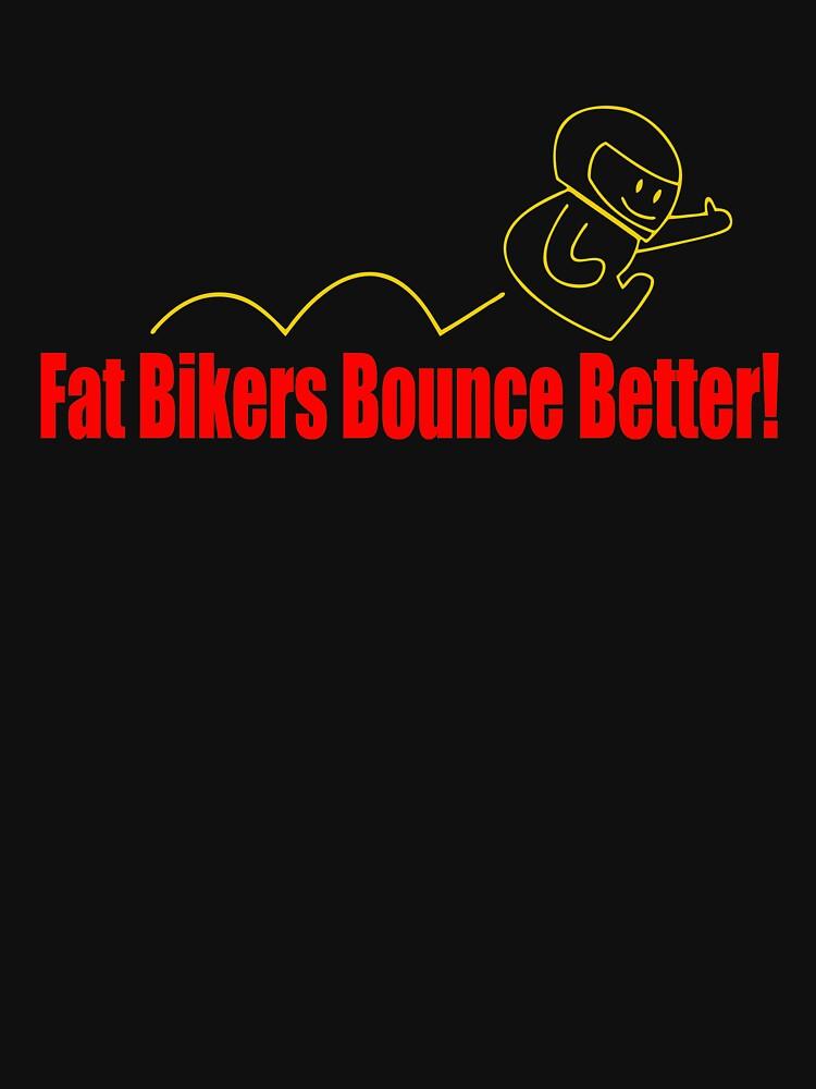 RETRO QS853 Fat Bikers Bounce Better Trending by HadWeGo