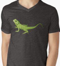 Green Lizard Men's V-Neck T-Shirt