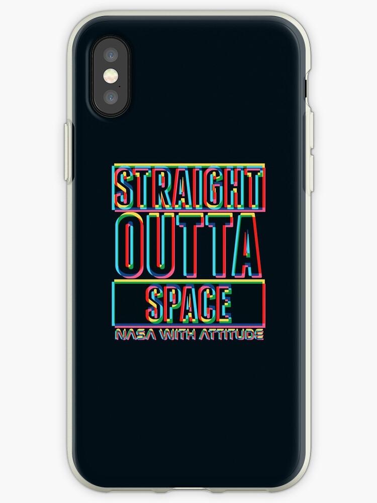 soft CMYK Straight Outta Space (dark) by animinimal