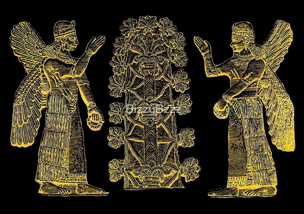 Sumerian Tree of Life by BizzyBzzz
