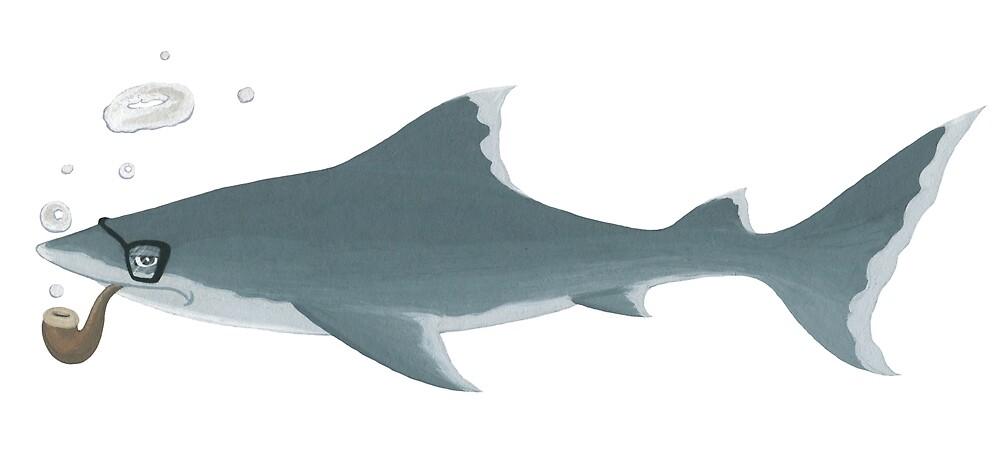 Professor Shark by Seb Fowler