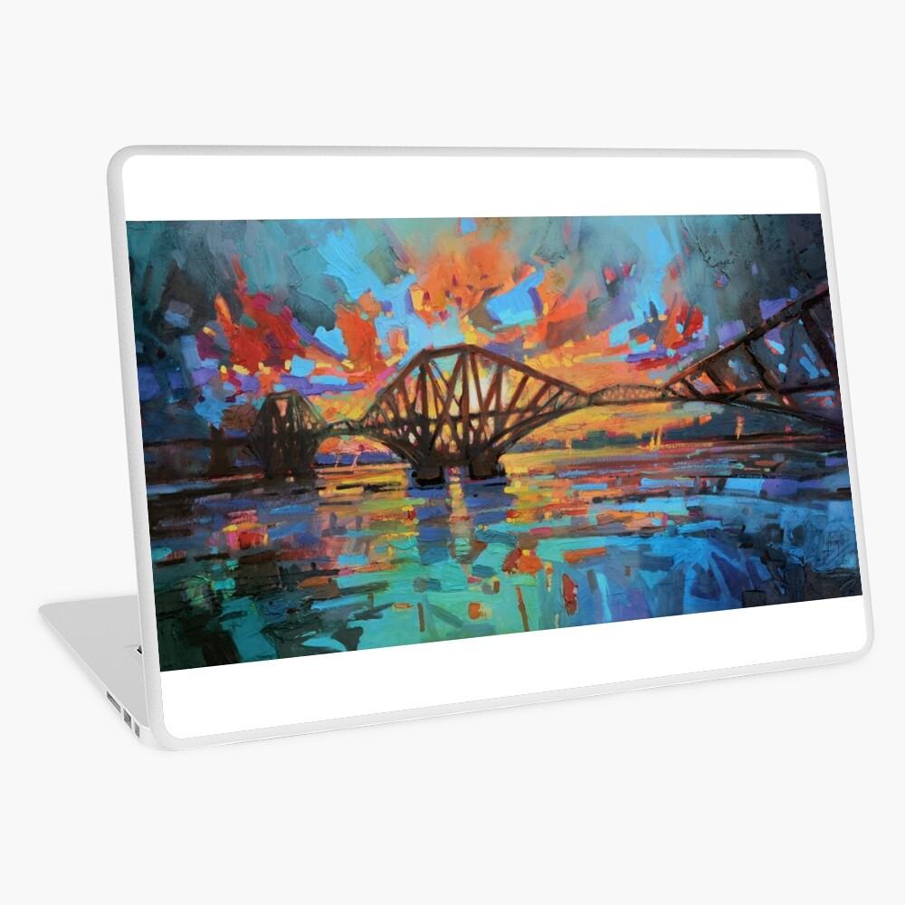 Forth Bridge Dawn Laptop Skin