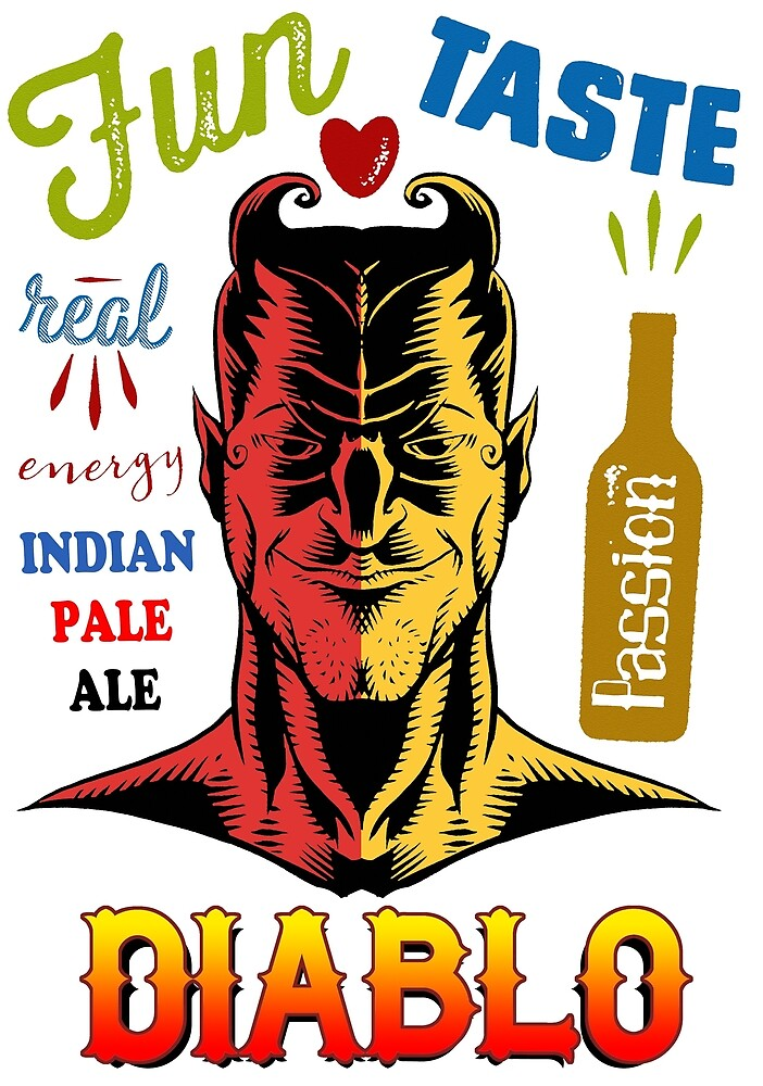 Diablo Indian Pale Ale beer by dpachers