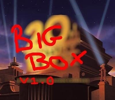 Big Box USB Hard Drive Sticker by bigbox