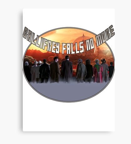 Gallifrey Throw Canvas Print
