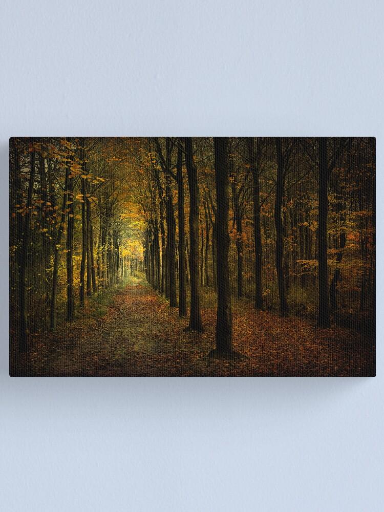 Alternate view of Woodland, light Canvas Print