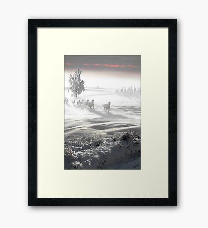 White Spirit Framed Print