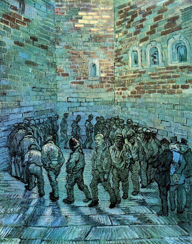 VAN GOGH Prisoners 1890 by TheGrandTour