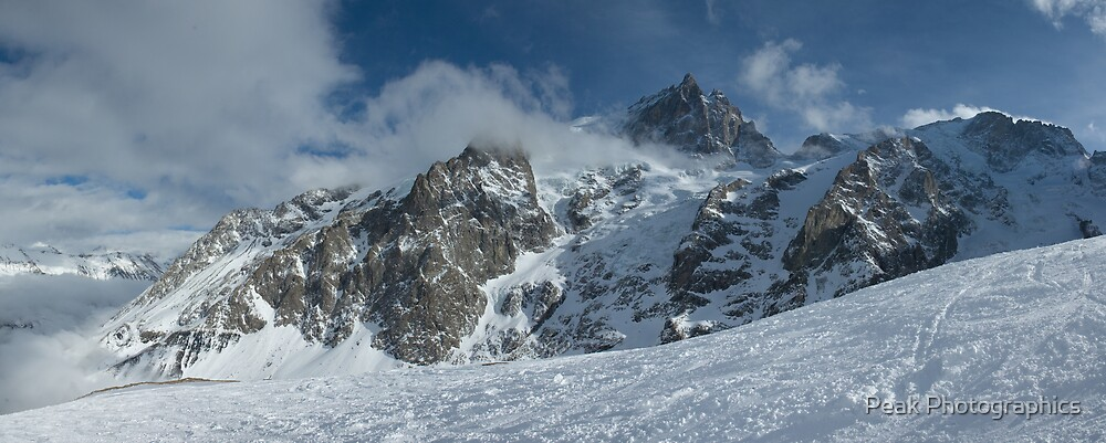 La Meije, La Grave, French Alps by Peak Photographics