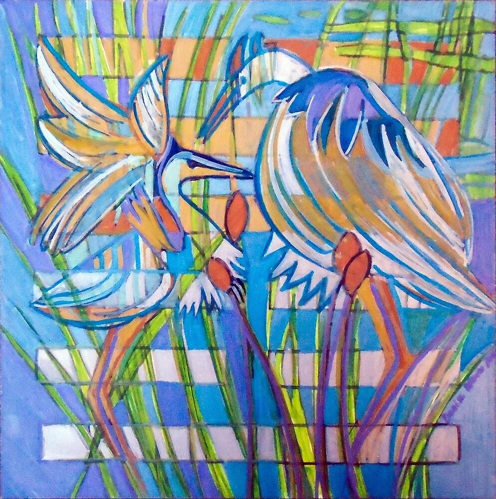 Hexagram 17: Sui (Follow the Leader) by Denise Weaver Ross