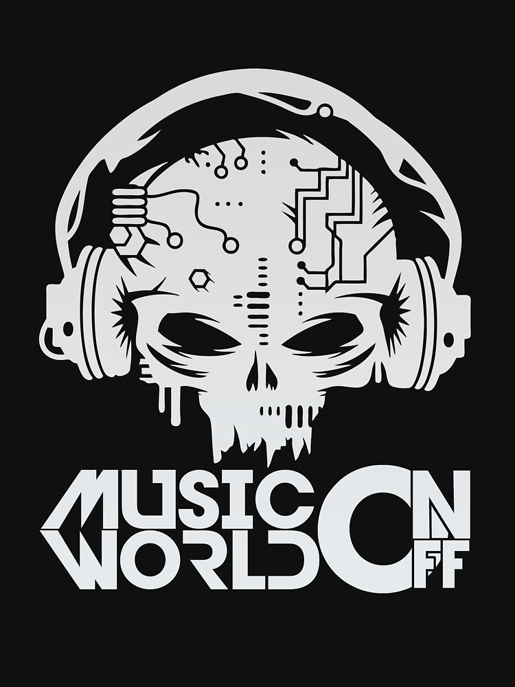 BEST T-SHIRT JT199 Cyber Skull With Headphones Best Product by TioPionee