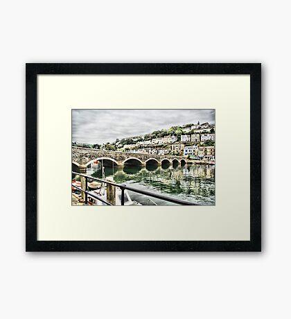 Bridge at Looe Framed Print