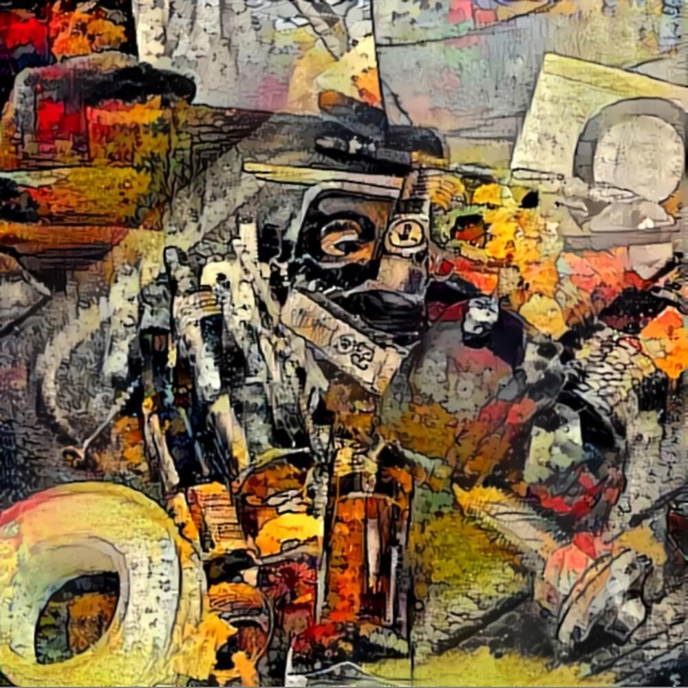 Dash Abandon by Brendan Arthur Ring