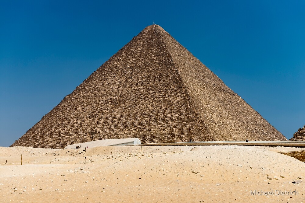 Great Pyramid of Giza by Michael Dietrich