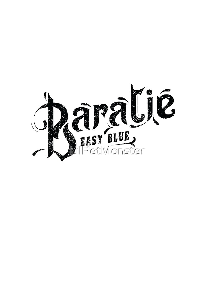 One Piece Baratie Logo by LilPetMonster