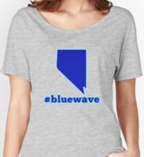Blue Wave (Nevada) Women's Relaxed Fit T-Shirt