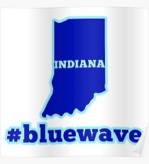 Blue Wave (Indiana) Poster