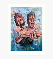 Bret and Jemaine Art Print