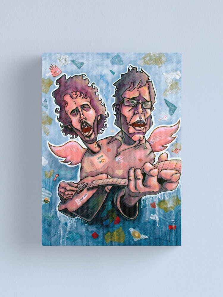 Alternate view of Bret and Jemaine Canvas Print