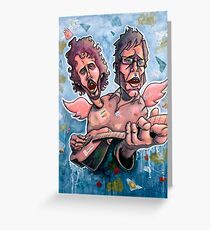Bret and Jemaine Greeting Card