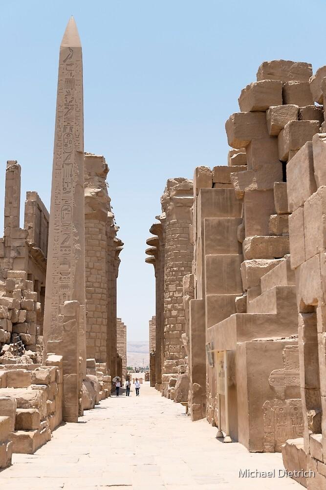 Karnak Temple, Luxor by Michael Dietrich
