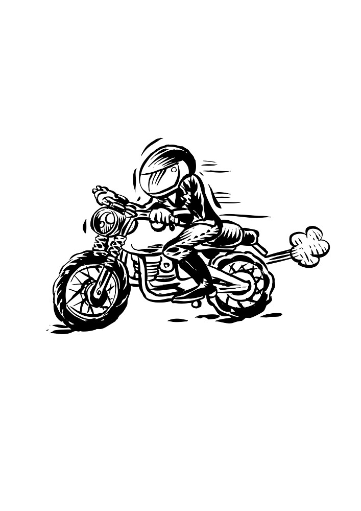 motorcycle by dpachers