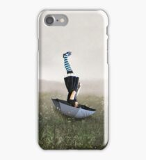 Umbrella melancholy iPhone Case/Skin