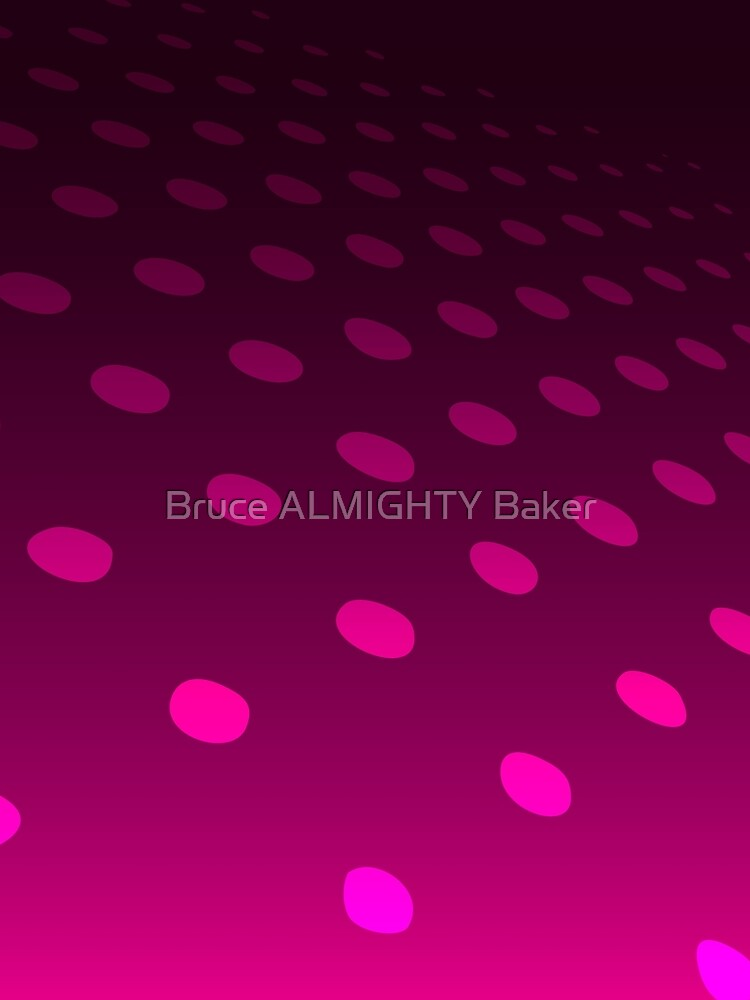 Purple Dots on a Purple Background Abstract Art by BruceALMIGHTY