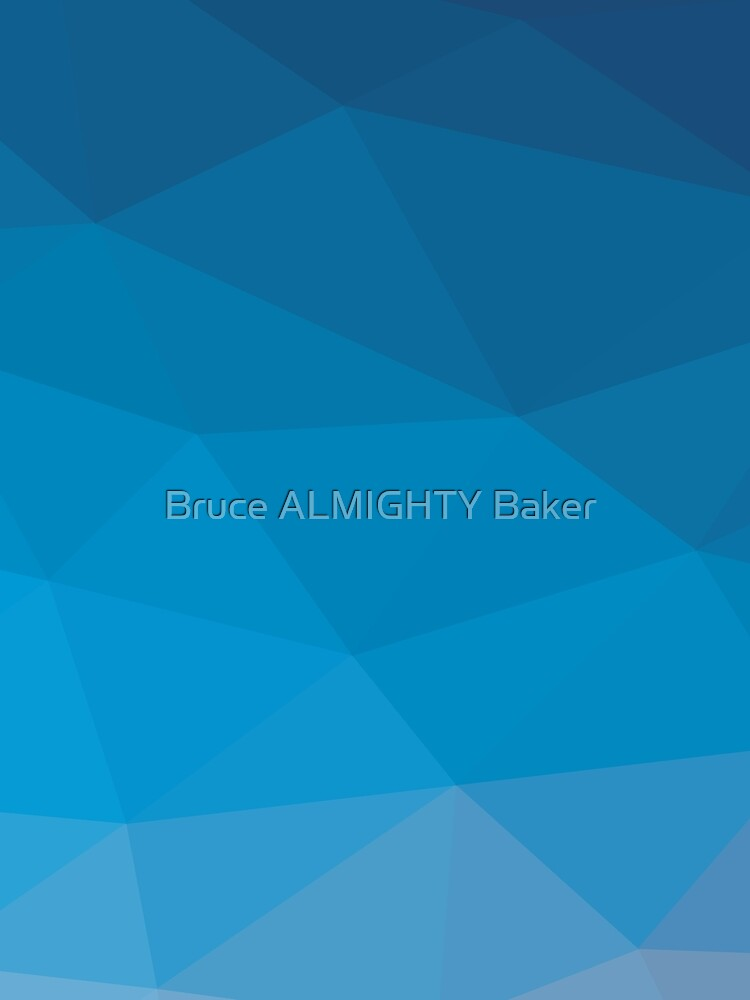 Blue Abstract Art by BruceALMIGHTY