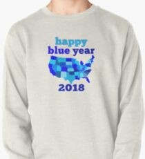 Happy BLUE year! Pullover