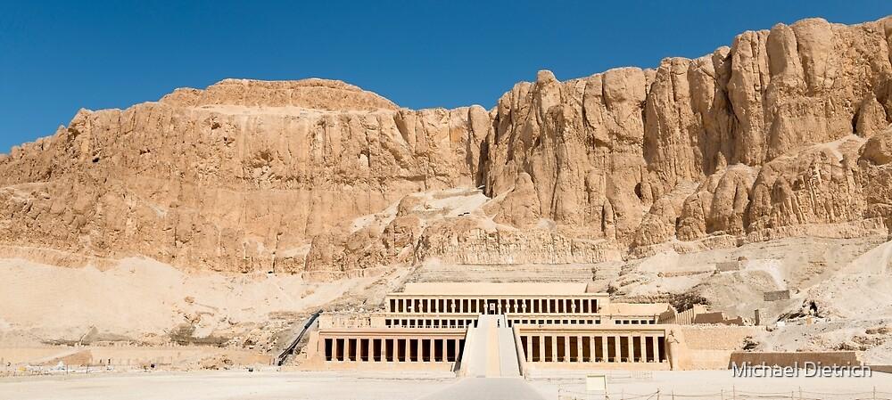 Hatshepsut Temple by Michael Dietrich