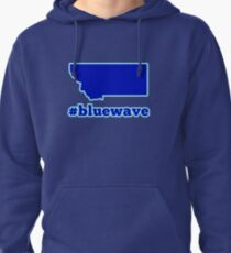 Blue Wave (Montana) Pullover Hoodie