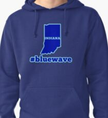 Blue Wave (Indiana) Pullover Hoodie