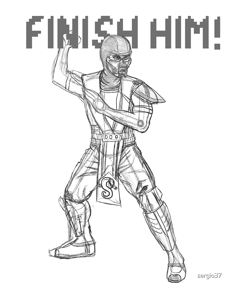 FINISH HIM! by sergio37