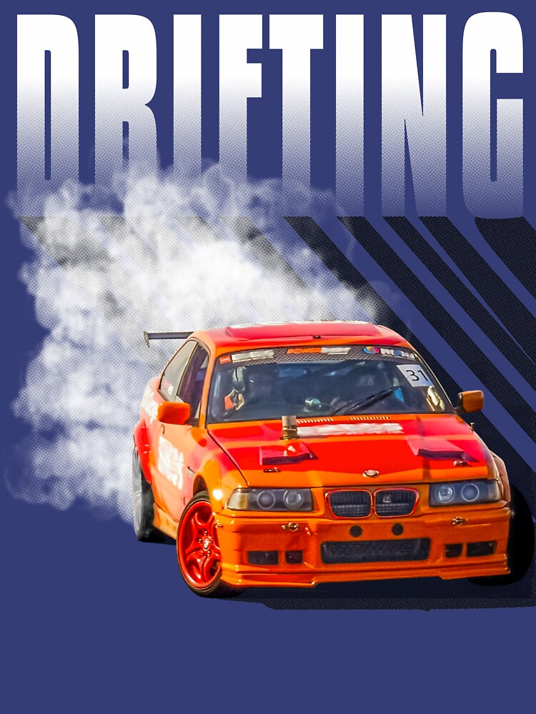 Drifting Car Design by allovervintage